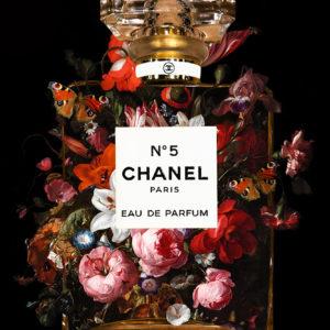 Chanel Rachel Ruysch explosion